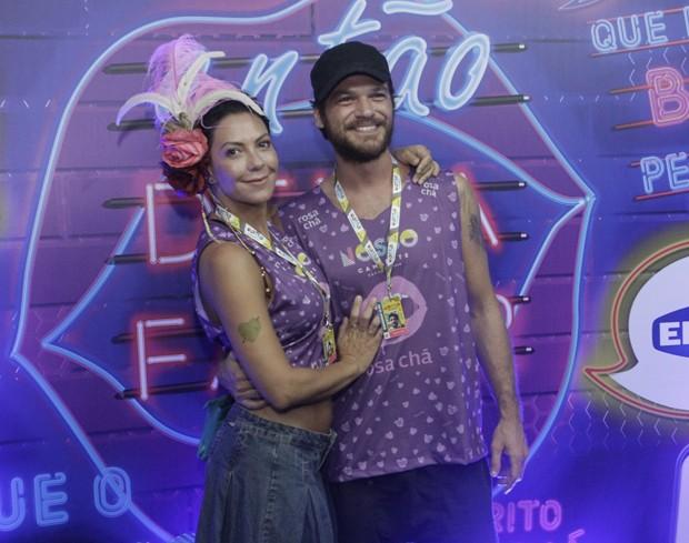 Fabiula Nascimento e Emilio Dantas (Foto: RT Fotografia/Brazil News/CS Eventos Divulgacao)
