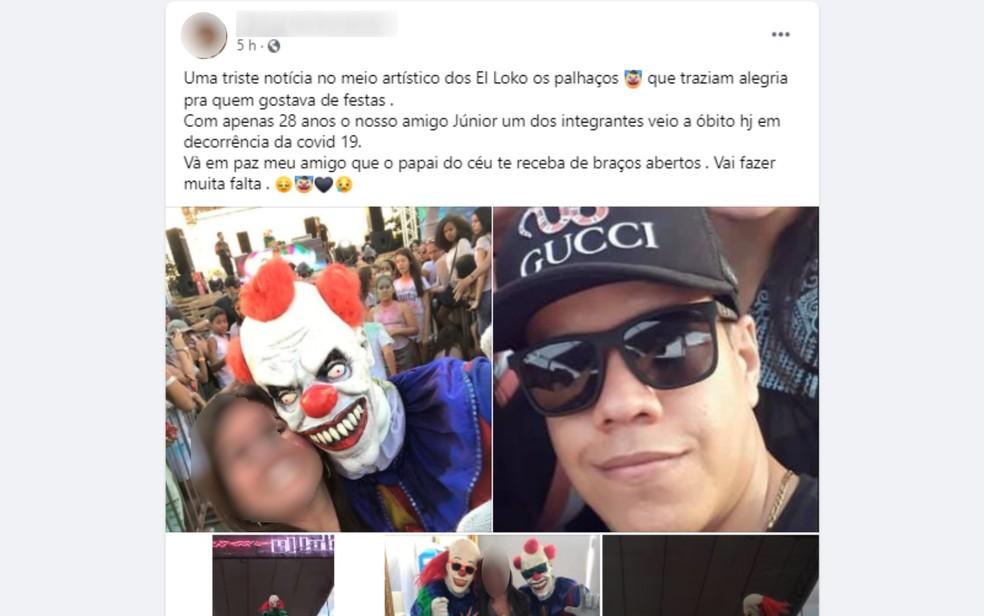 DJ que fazia turnê pelo país em kombi morre com coronavírus em Mineiros  — Foto: Reprodução/Facebook