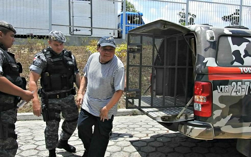 Adail Pinheiro chegou a ser preso em 2014 — Foto: Isis Capistrano/G1 AM
