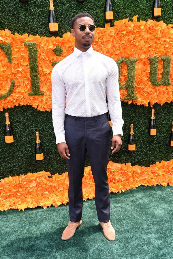 JERSEY CITY, NJ - JUNE 04:  Actor Michael B. Jordan attends the Ninth Annual Veuve Clicquot Polo Classic at Liberty State Park on June 4, 2016 in Jersey City, New Jersey.  (Photo by Jamie McCarthy/Getty Images for Veuve Clicquot) (Foto: Getty Images for Veuve Clicquot)