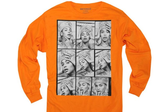 Nova coleção de Beyoncé inspirada na rainha Nefertiti (Foto: Reprodução )