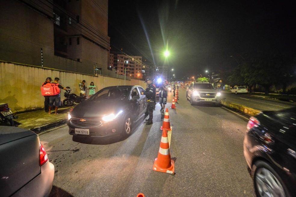 Em 10 horas, 105 motoristas são flagrados pela Lei Seca em Manaus; número é recorde, aponta Detran-AM — Foto: Divulgação/Detran-AM