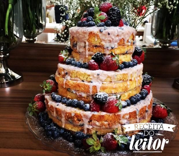 receita-do-leitor-naked-cake (Foto: Divulgação)
