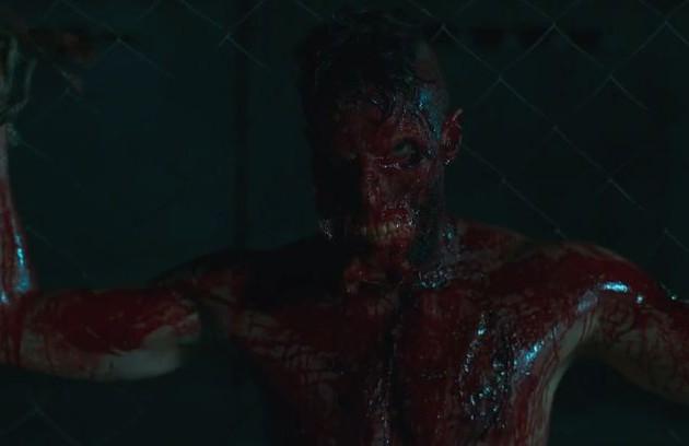 Ainda em  'Supermax', Luizão (Bruno Belarmino) teve um desfecho trágico ao tentar fugir da prisão (Foto: Reprodução)