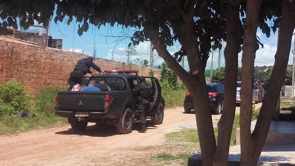 Ação que resultou na prisão de Gilson Limeira da Silva em Natal foi conduzida pelo Bope (Foto: Divulgação/PM)