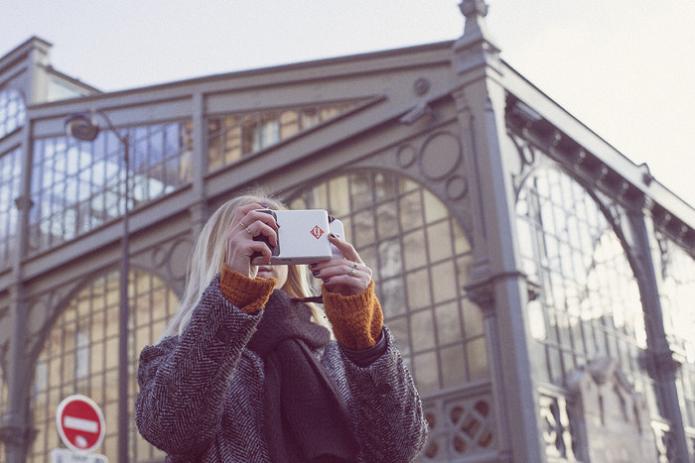 Usuário pode fotografar e, em seguida, imprimir a imagem (Foto: Divulgação)