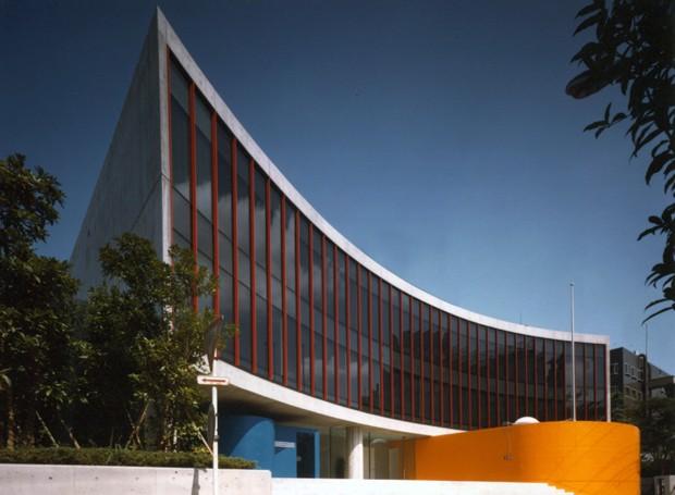Embaixada do Brasil no Japão projetada por Ruy Ohtake (Foto: Divulgação/Acervo pessoal)