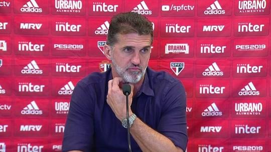 """Mancini aponta São Paulo """"muito abaixo"""" e vê jogadores atingidos por falta de autoestima"""