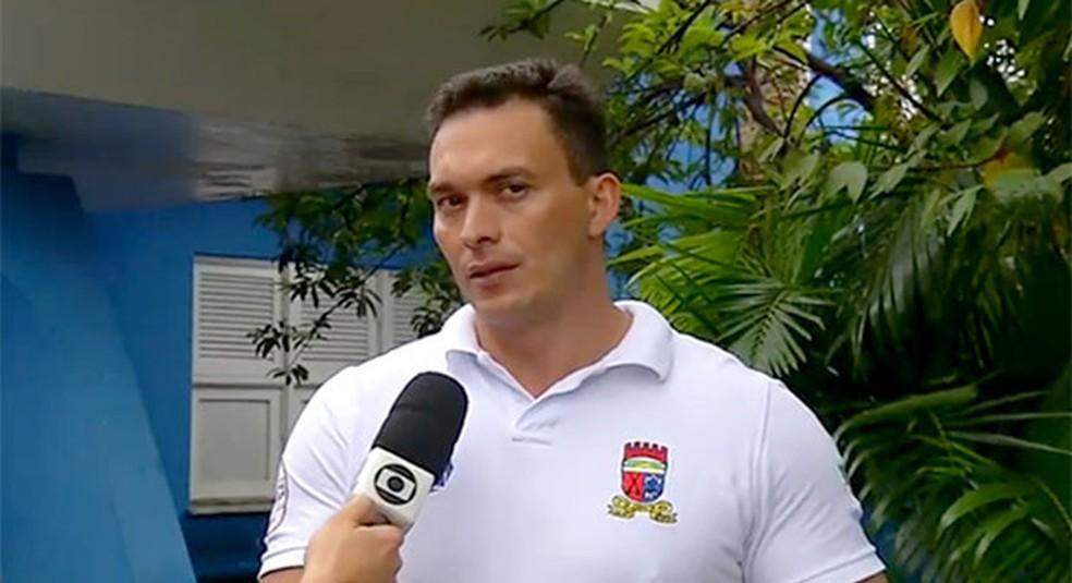 O senador Styvenson Valentim é relator do projeto — Foto: Reprodução/Inter TV Cabugi