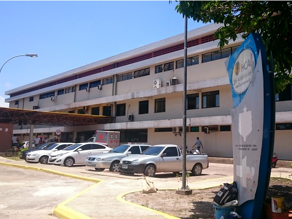 Hospital de Clínicas Alberto Lima, em Macapá — Foto: Fabiana Figueiredo/G1