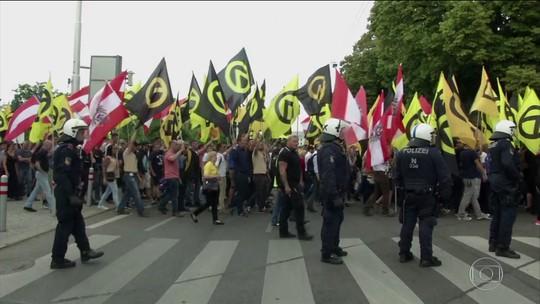 Áustria investiga grupo de extrema-direita