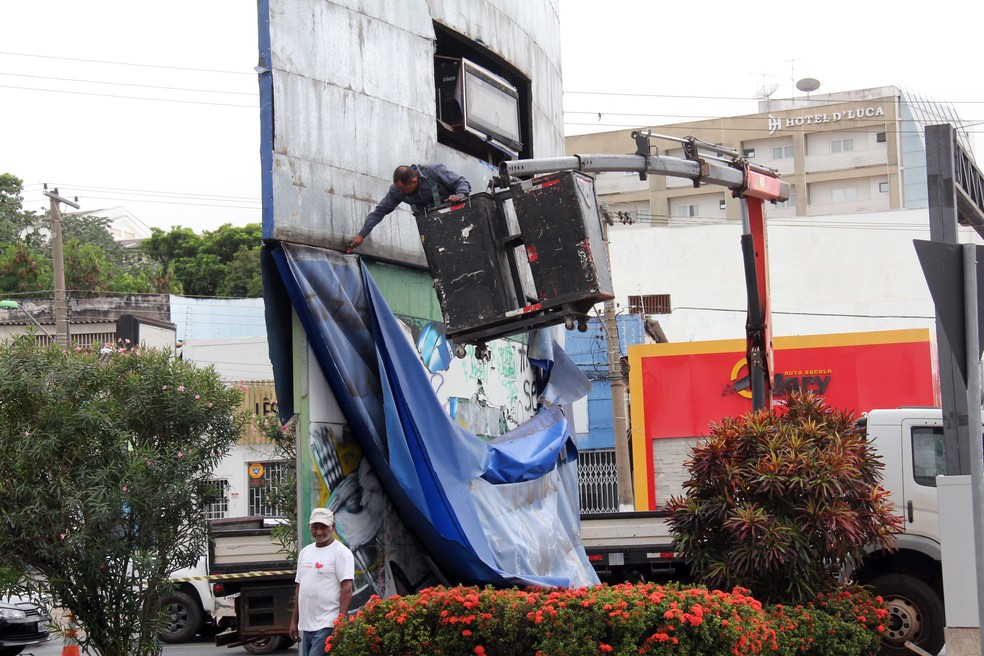Relógio de 15 metros em forma de viola de cocho será construído em comemoração aos 300 anos de Cuiabá (Foto: Luiz Alves/Prefeitura de Cuiabá)
