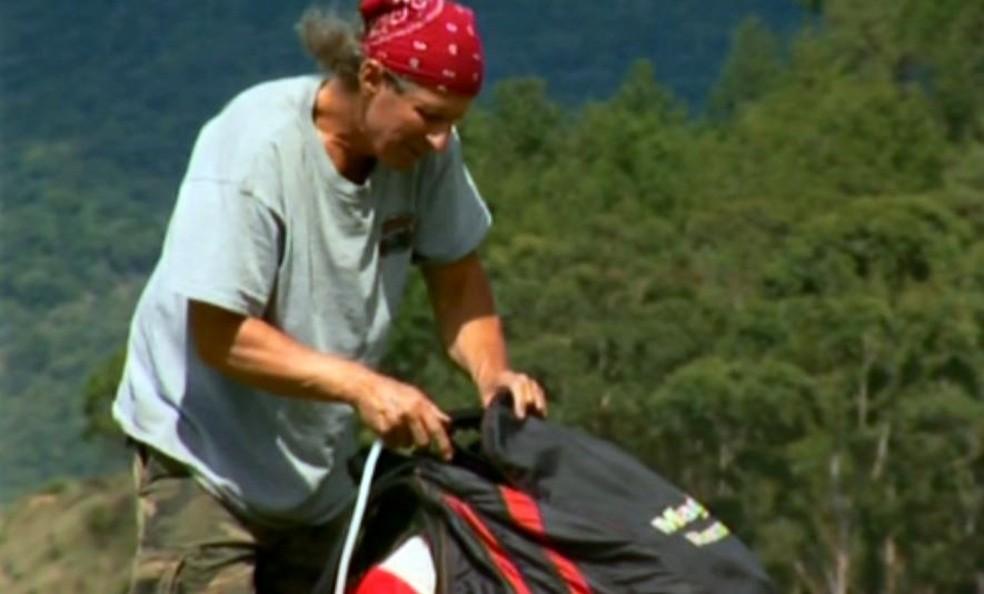 Paulo Sérgio Trevisan, de 56 anos, tinha o apelido de Baiano e era conhecido como um piloto experiente (Foto: Reprodução EPTV)
