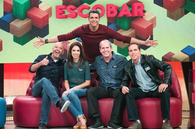 Alex Escobar no 'Tamanho família' (Foto: TV Globo )