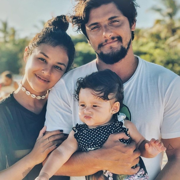 Yanna, Bruno e Madalena (Foto: Instagram/Reprodução)