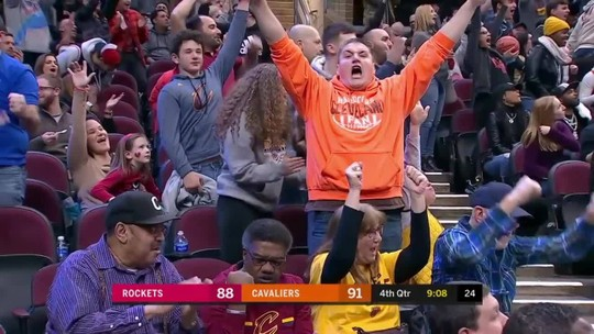 Melhores momentos: Houston Rockets 116 x 110 Cleveland Cavaliers