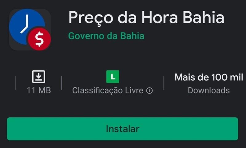 Mais de 200 mil baianos já utilizam o app Preço da Hora Bahia