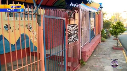 Greve de funcionários fecha mais de 40 escolas de educação infantil conveniadas em Caxias do Sul