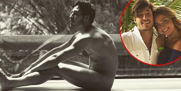Vinicius Martinez, namorado de Carol Dantas, posa nu (Foto: Reprodução)