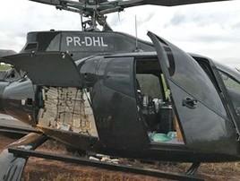 Suspeito de elo com helicóptero de cocaína morre em motel de SP (Divulgação/PF-SP)