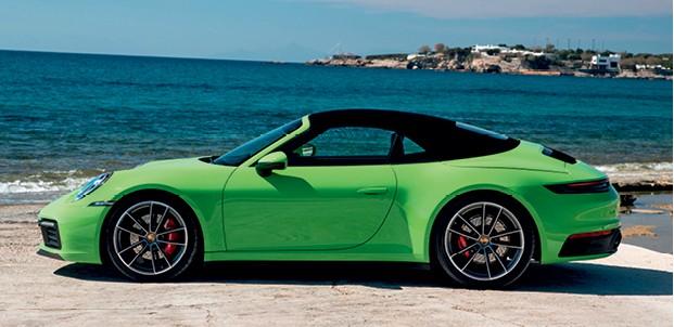 Porsche 911 Carrera S Cabriolet (Foto: Divulgação)