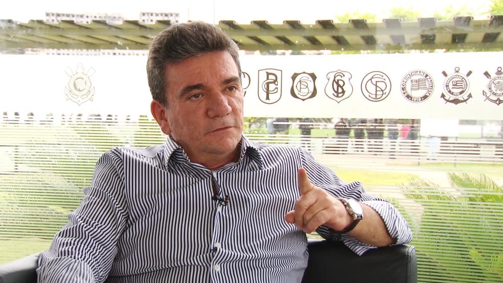 Andrés Sanchez, presidente do Corinthians, é hospitalizado em São Paulo — Foto: Diogo Venturelli