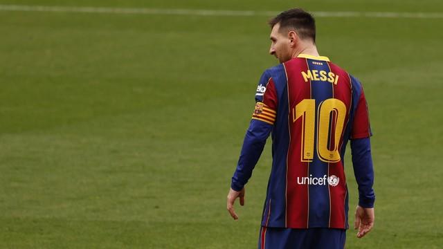 Messi chegou aos 19 gols pelo Campeonato Espanhol. É o artilheiro