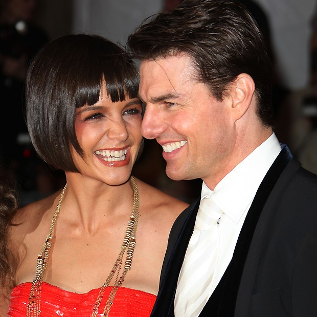 Katie Holmes e Tom Cruise em 2008 (Foto: Getty Images)