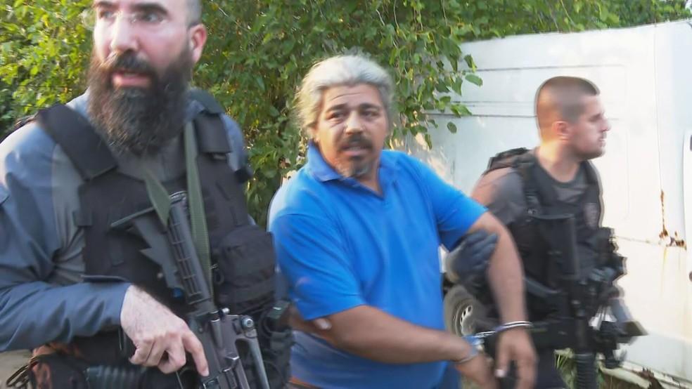 Suspeito de furto de combustível é preso no Rio — Foto: Reprodução/TV Globo