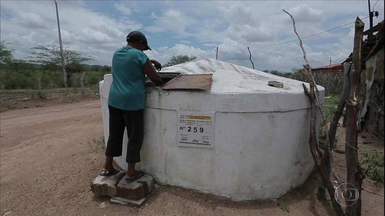 Redução no orçamento do programa de cisternas afeta agricultores do sertão