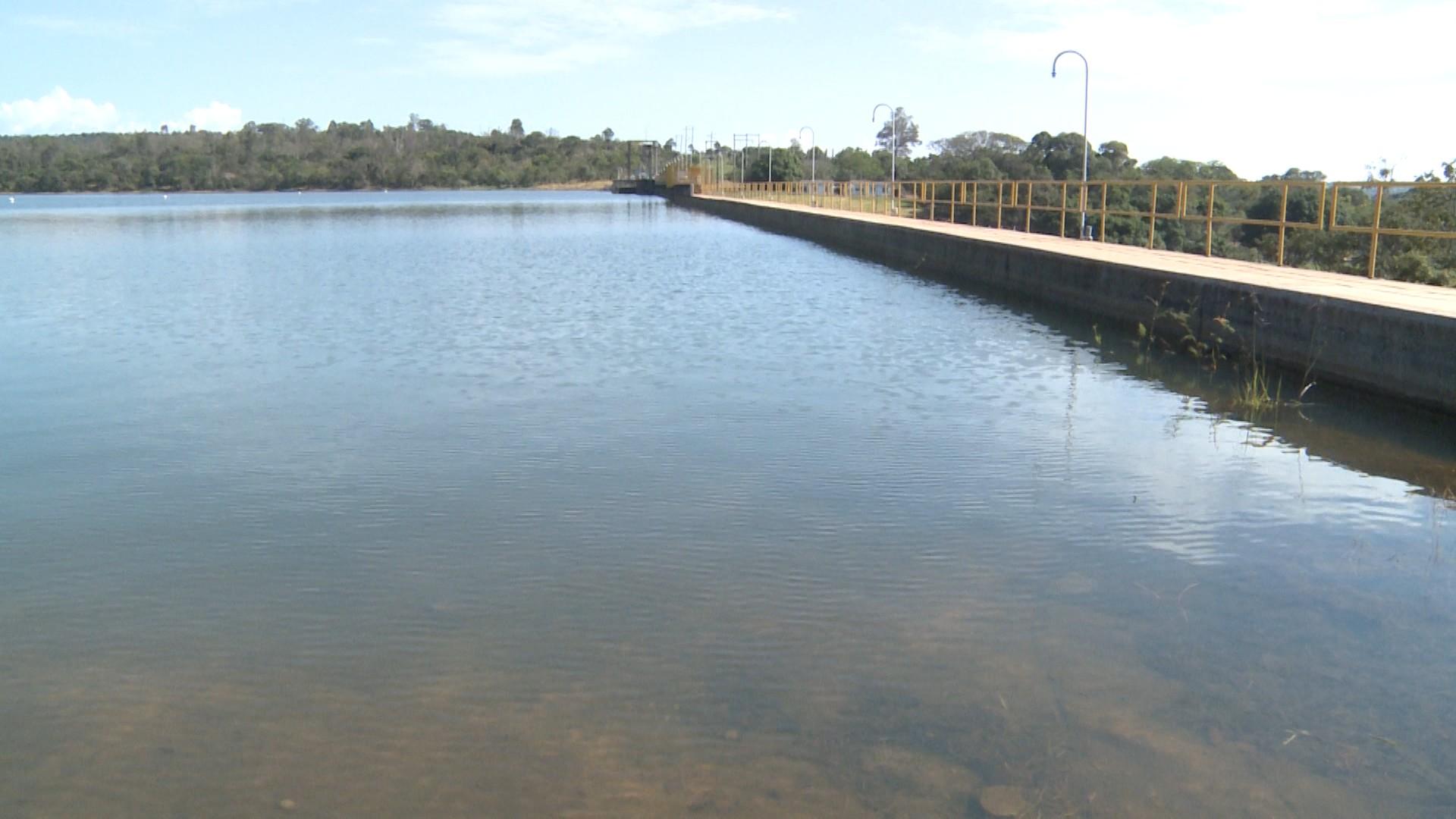 Volume de água na barragem de Carmo do Cajuru está próximo de atingir a capacidade total - Noticias