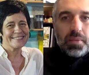 Thelma Guedes e Thiago Dottori | Globo e reprodução