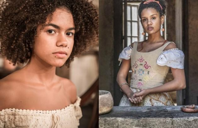 Heslaine Vieira substituirá Alana Cabral no papel de Zayla. Na nova fase, ela estará noiva de Samuel (Foto: TV Globo)