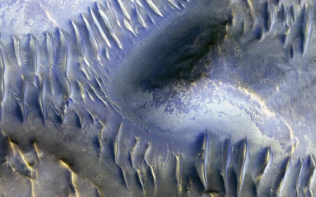 Dunas, Nasa, Marte (Foto: NASA/JPL/University of Arizona)