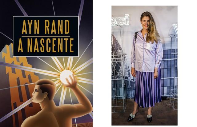 """Barbara Migliori, Diretora de Moda A Nascente, de Ayn Rand. """"Um dos livros-guia da minha vida, publicado em 1943. Tratado sobre ética e moral como valores incorruptíveis e inquestionáveis, segundo o ponto de vista de uma personagem fascinante, um jovem ar (Foto: Divulgação/David Mazzo)"""