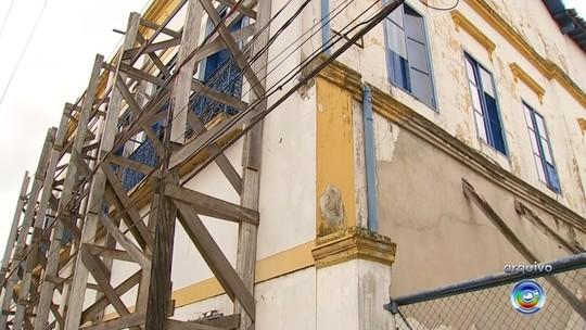 Fechado há nove anos, Museu das Monções passa por reforma em Porto Feliz