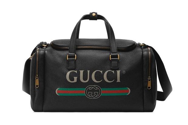 Maleta de couro Gucci R$ 9.290 (Foto: divulgação)