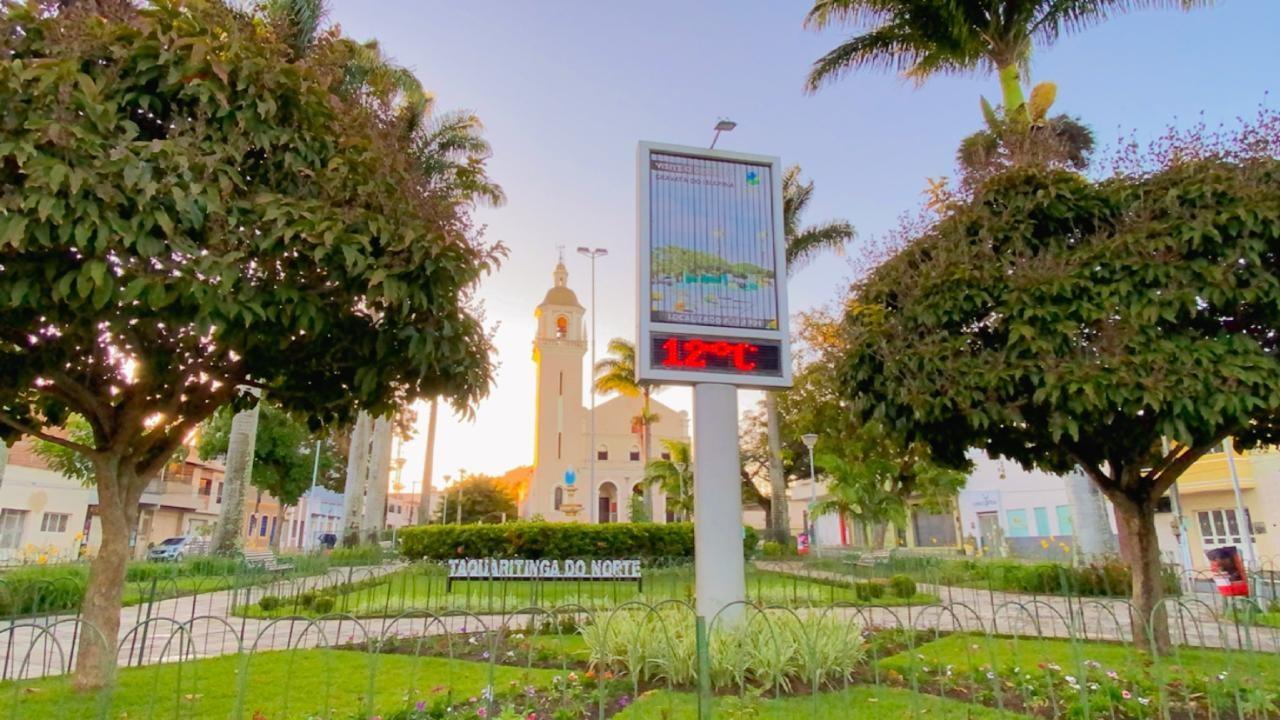 Taquaritinga do Norte registra 12ºC na manhã desta segunda-feira (2)