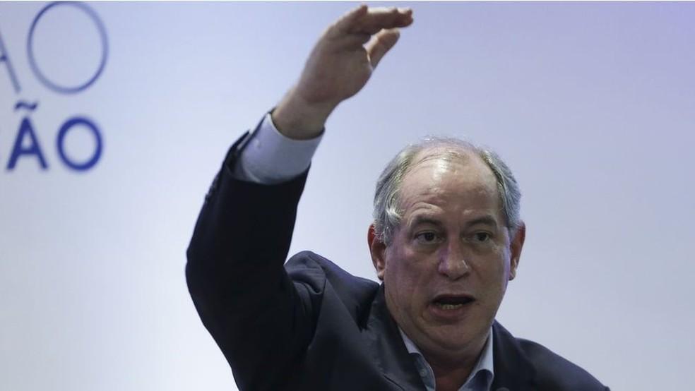 Para onde migrarão os votos de Ciro Gomes? — Foto: José Cruz/Agência Brasil
