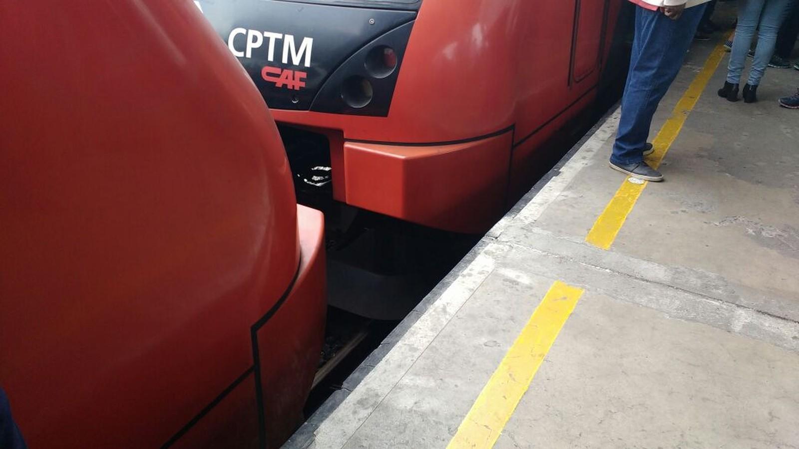 CPTM cria 'plataforma de borracha' nas estações Luz e Brás