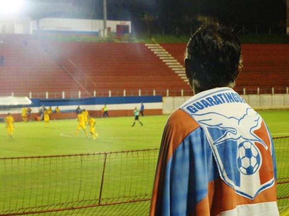 Guaratinguetá acumulou rebaixamentos nos últimos anos — Foto: Leandro Oliveira/ Na Gaveta Esportes