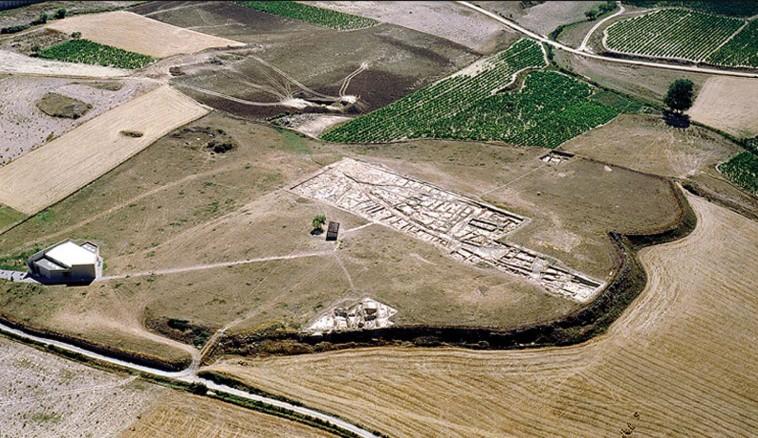 A cidade de La Hoya vista de cima (Foto: © Antiquity Publications Ltd)