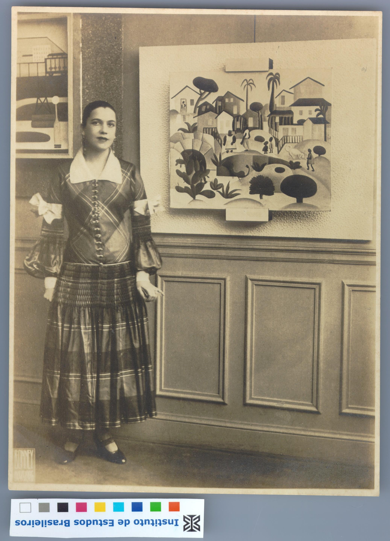 Tarsila por volta de 1926 (Foto: Divulgação)