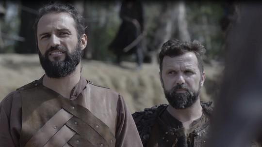 Afonso e Augusto enfrentam Constantino