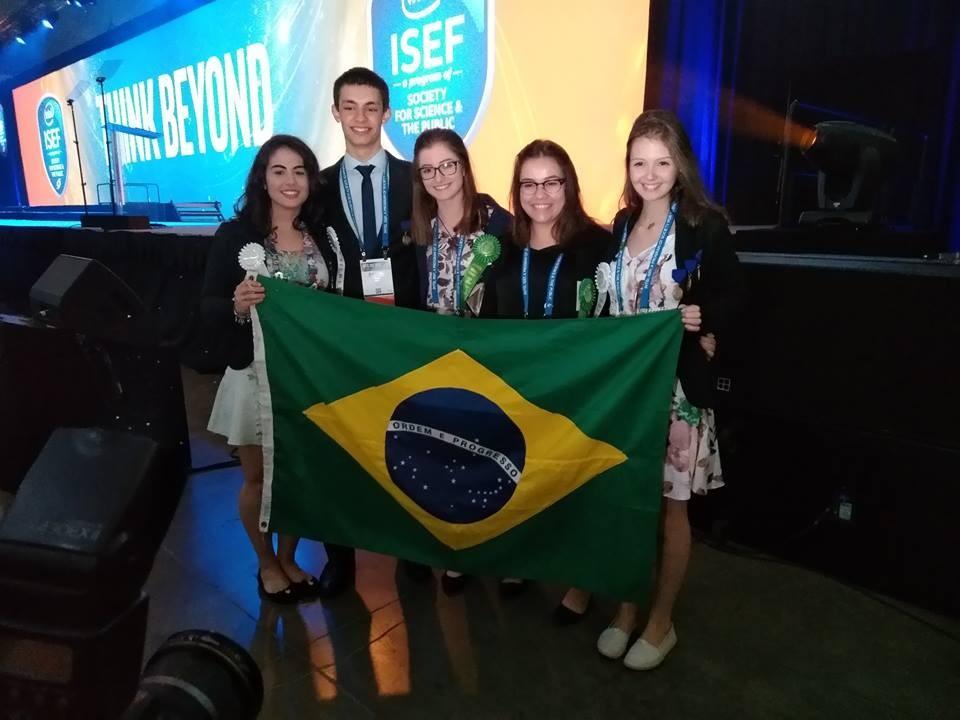 Delegação brasileira na ISEF 2018 recebeu diversos prêmios (Foto: Isabela Moreira / Editora Globo)