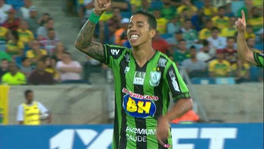 Veja os gols da derrota do Cuiabá para o América-MG