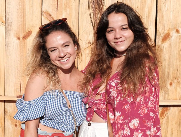 Thaís Belchior e Mariana Cerrone (Foto: Renato Wrobel/Ed. Globo)