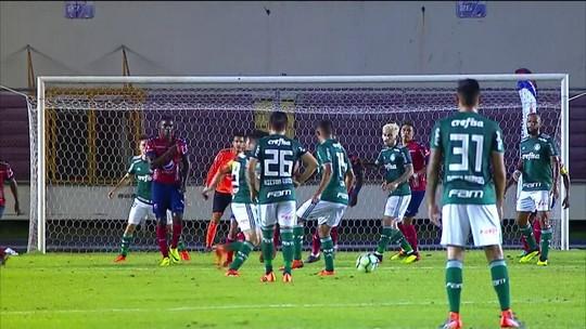 Melhores momentos: Independiente Medellín 0 x 2 Palmeiras em amistoso