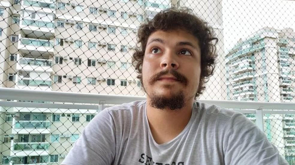 Pedro Henrique relata que teve de responder sobre seu signo durante entrevista para um estágio — Foto: Arquivo pessoal