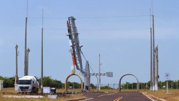 O centro lançou foguetes de sondagem, mas as três tentattivas de lançar VLS (Veículo Lançador de Satélites) fracassaram (Foto: Agência Força Aérea / Sgt. Johnson via BBC)